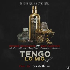 TENGO LO MIO REMIX - COVER 2 - FLYER
